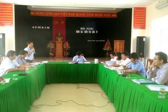 VQG Phong Nha – Kẻ Bàng: Hội nghị đánh giá, kiểm tra giữa kỳ kế hoạch thử nghiệm diệt trừ Bìm bôi hoa vàng